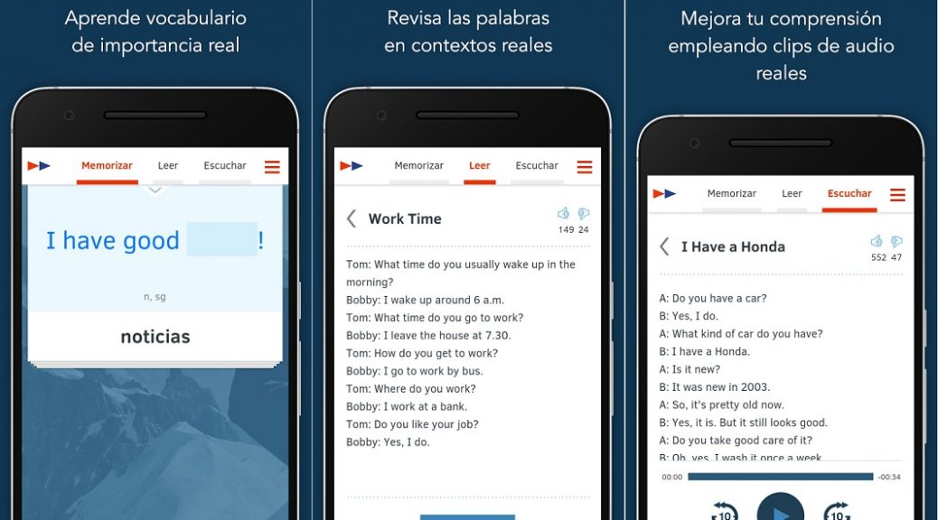 Aprenda un idioma en 200 horas, gratis para iPhone, iPad, Android