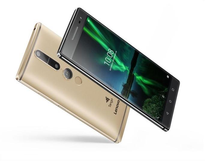 Lenovo entra en la realidad aumentada con un teléfono y Google Tango