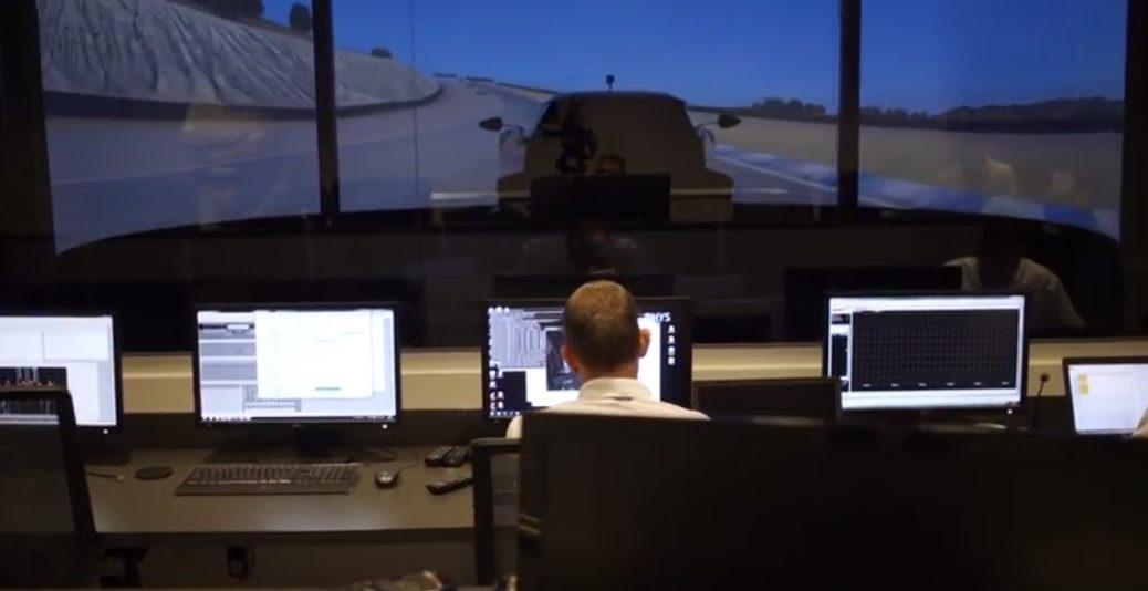 El simulador que usan los pilotos de Ford para las 24 Horas de Le Mans