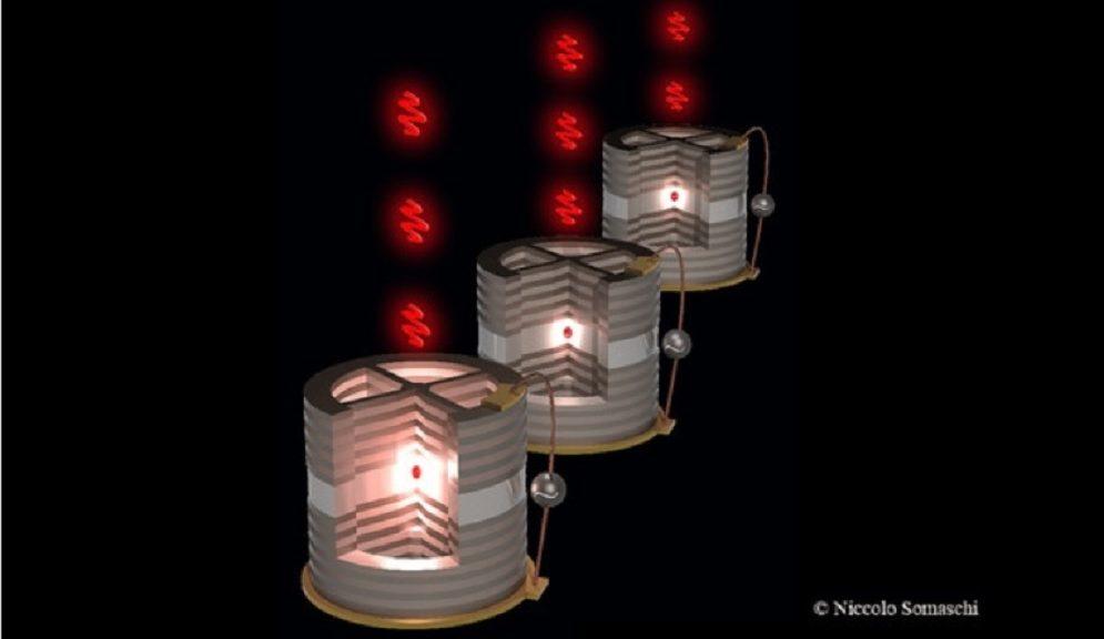 Una nanofuente cuántica mana fotones de uno en uno
