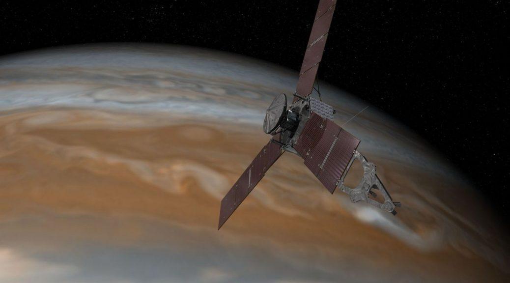 Video de la NASA muestra la misión Juno a Júpiter como si fueran los avances de una película