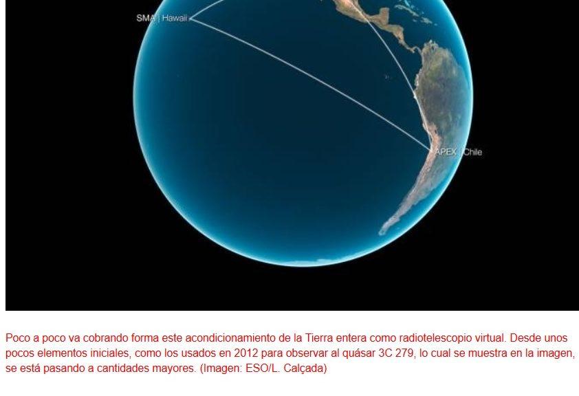 Proyecto para utilizar la Tierra como un radiotelescopio gigantesco