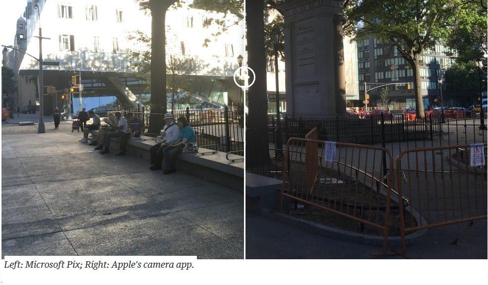 Microsoft ha creado una aplicación extremadamente sencilla para tomar mejores fotos