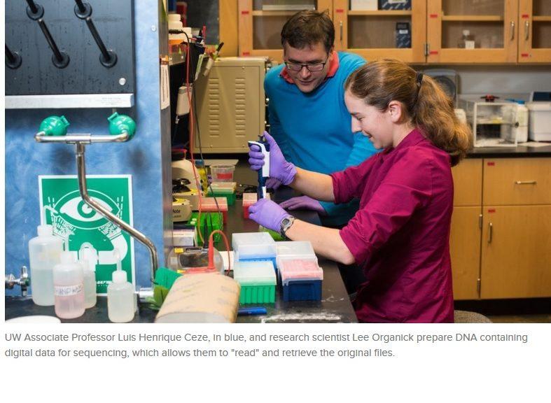 Investigadores almacenan un video musical de OK Go en hebras de ADN