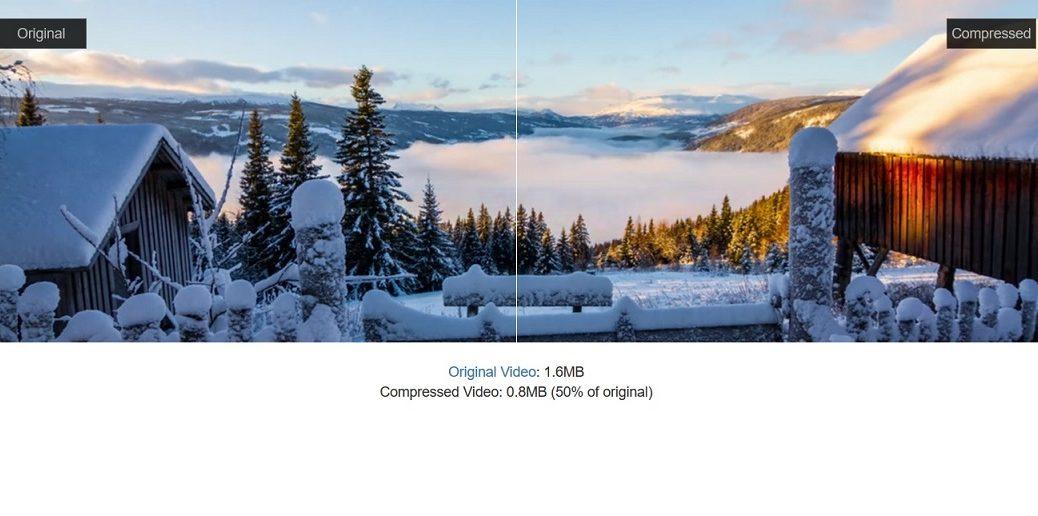 Comprima gratis archivos de video hasta un 60% sin perder calidad visual