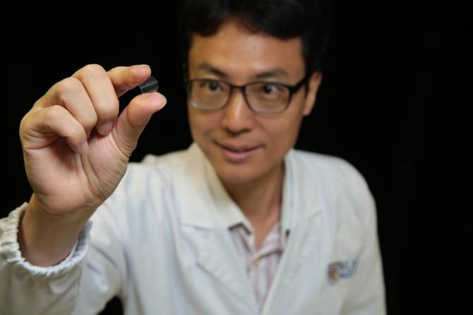 Fabrican dispositivo flexible de memoria magnética