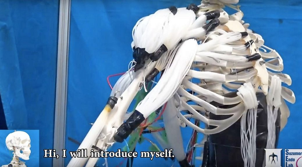 Investigadores crean robot esqueleto con músculos similares a los humanos