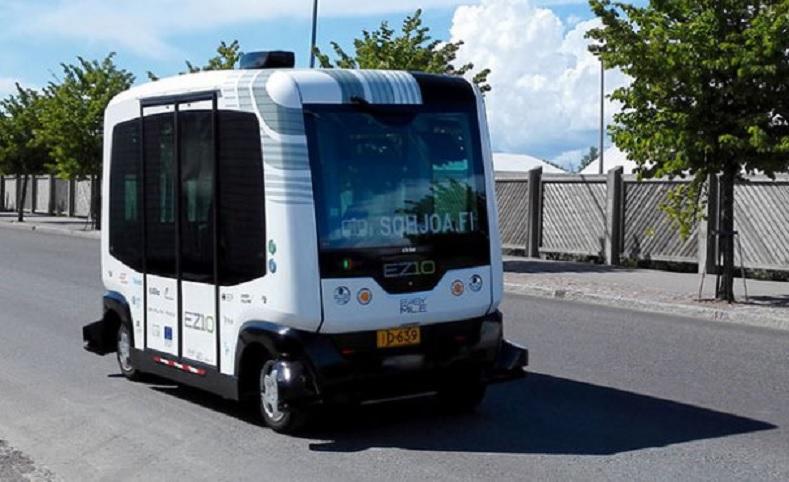 En Finlandia comienzan a probar autobuses autónomos en condiciones reales