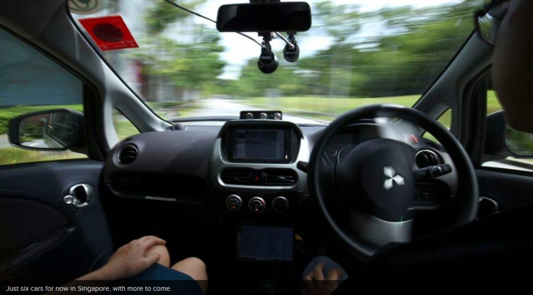 Los primeros taxis con auto-conducción ya están circulando por las calles de Singapur