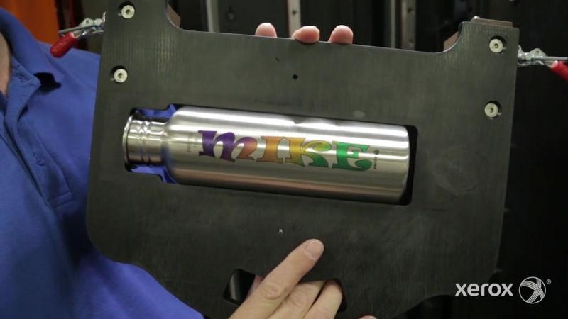 Xerox crea una impresora de inyección de tinta que puede imprimir sobre cualquier cosa