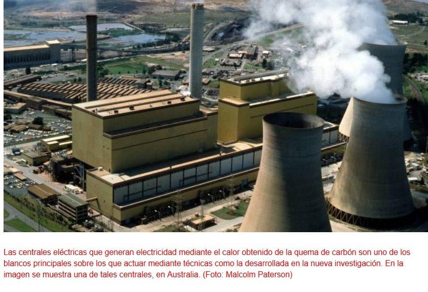 Generan electricidad a partir de la captura de dióxido de carbono