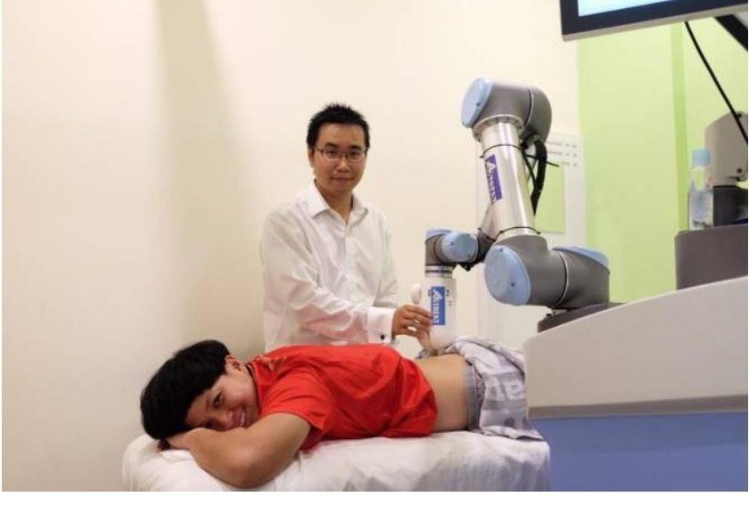 Trabajan en el desarrollo de un robot fisioterapeuta