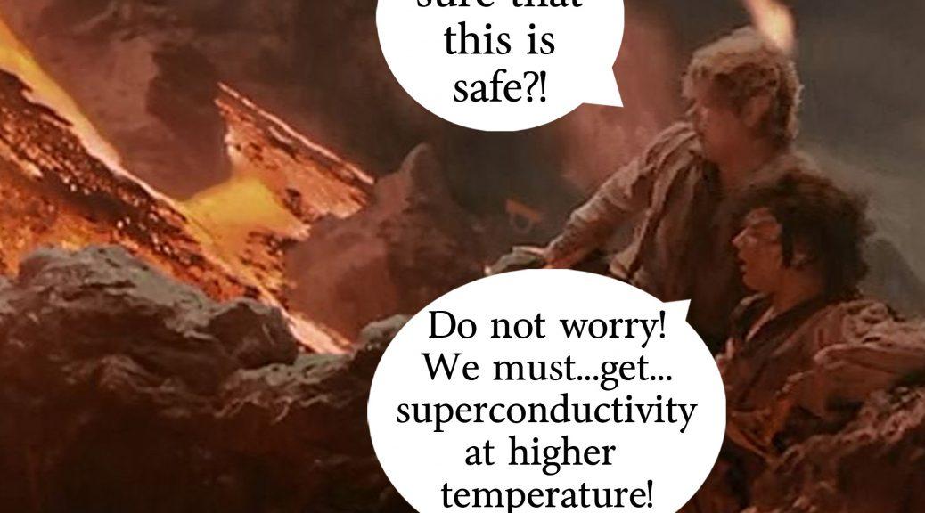Superconductividad a solo 70 grados bajo cero