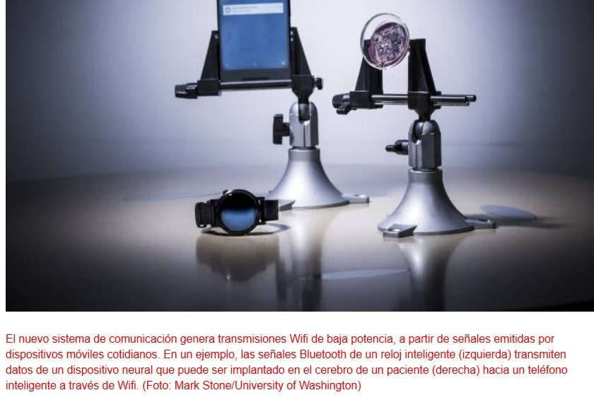 Conexión Wifi directa en lentes de contacto, implantes quirúrgicos y tarjetas de crédito