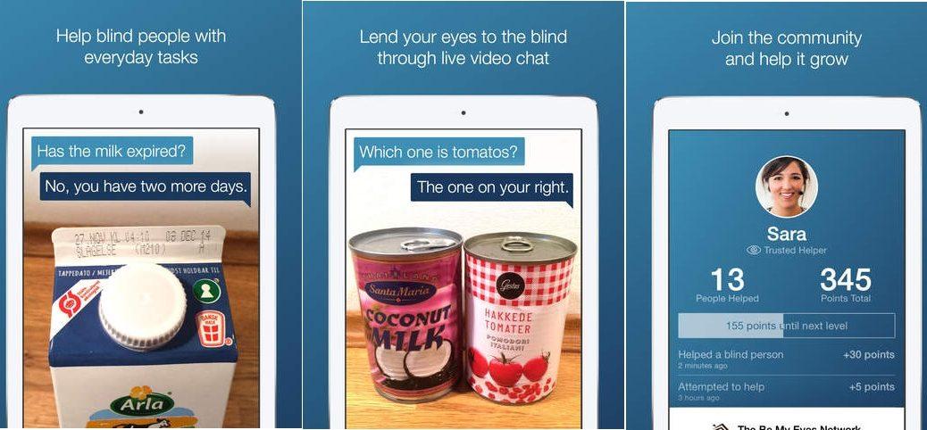 Be My Eyes, la «app» para que se convierta en los ojos de un invidente