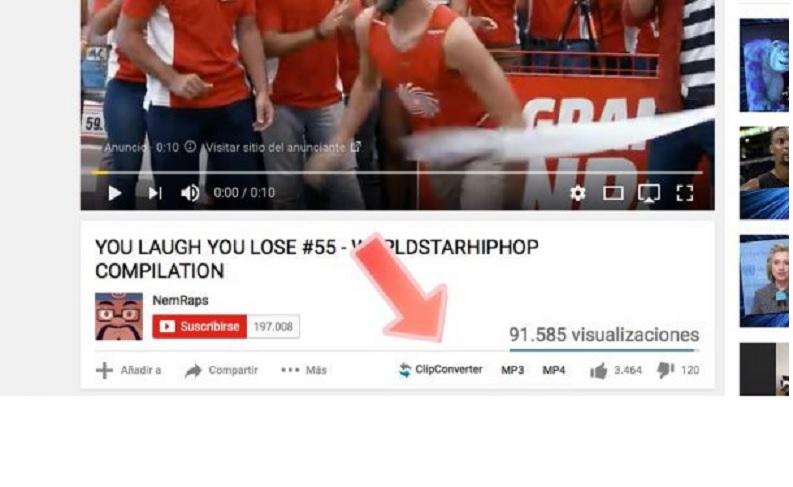 Descargue video o audio directamente desde el video en YouTube que esté viendo