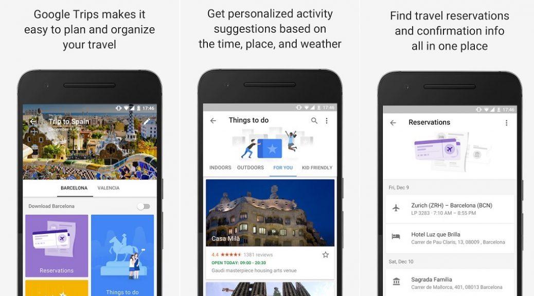 Google quiere convertirse en su guía turístico, gratis para iPhone, iPad, Android