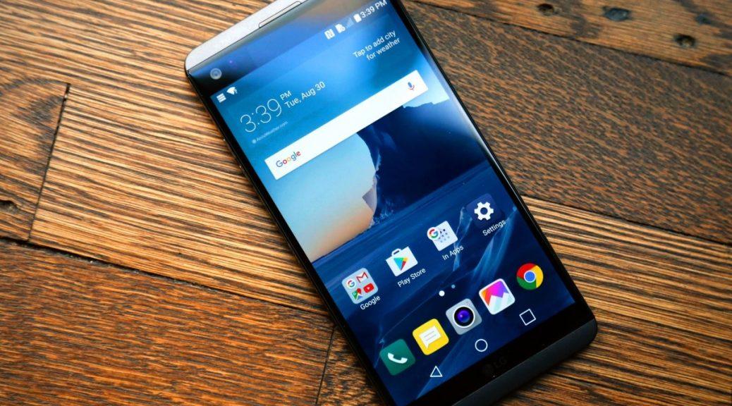 LG lanza su smartphone V20 con doble pantalla