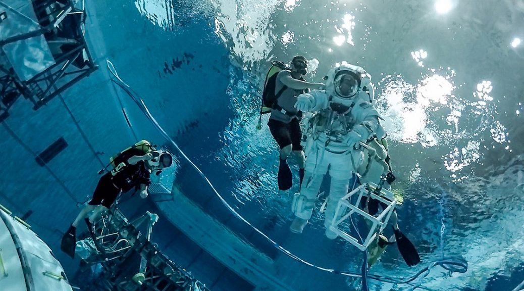 Video 360 grados del entrenamiento de los astronautas de la NASA