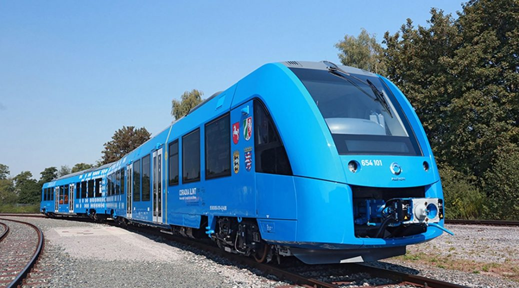 En el futuro cercano habrá trenes no contaminantes gracias a pilas de combustible de hidrógeno