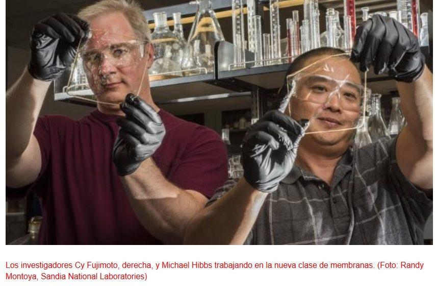Nueva y revolucionaria membrana para célula de combustible