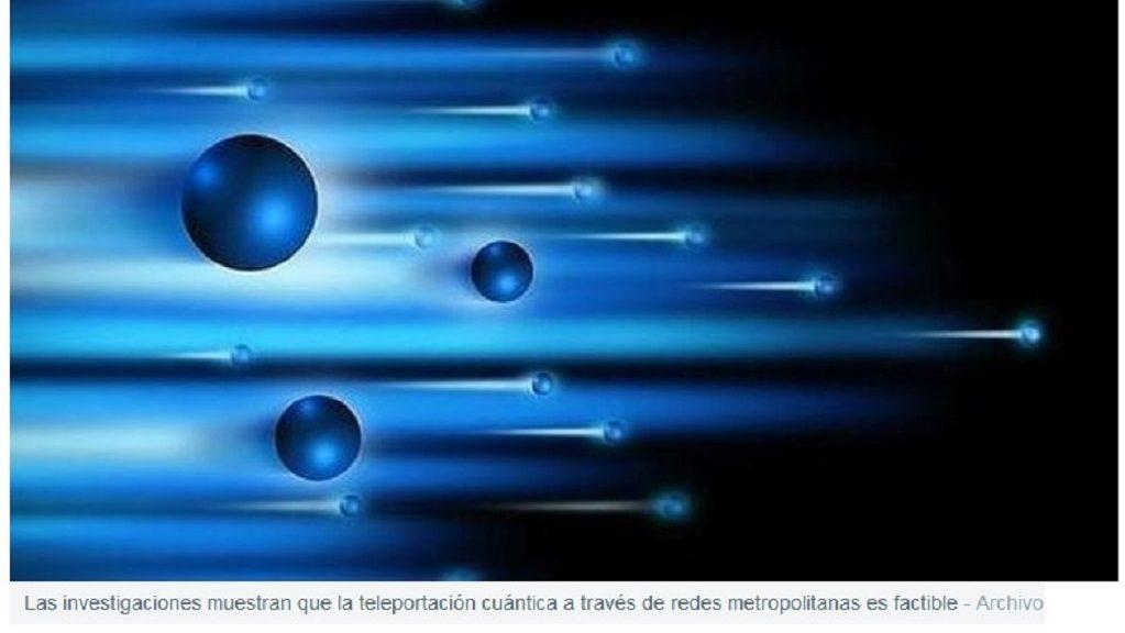 Teletransportan partículas a través de la red de fibra óptica de dos ciudades