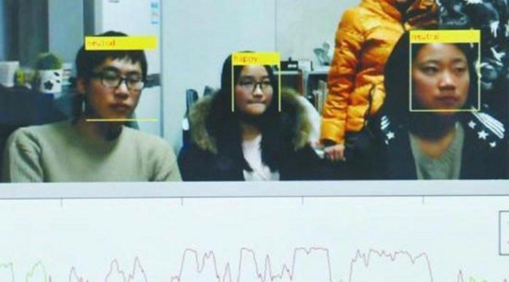 Profesor utiliza el reconocimiento facial para detectar a los estudiantes aburridos
