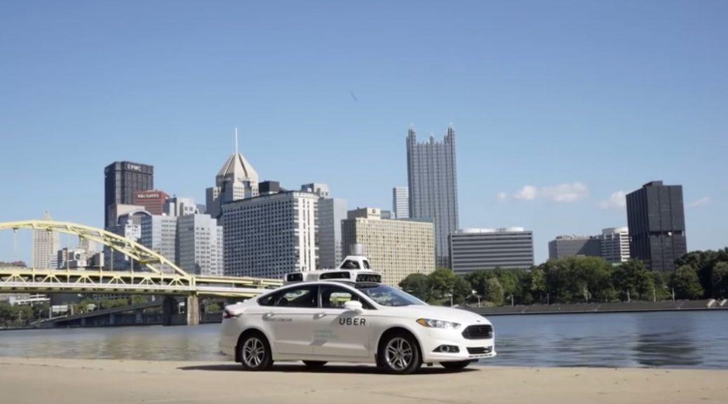 Así son los viajes en taxi autónomo de Uber, que inicia operaciones en Pittsburgh