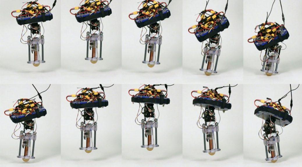 Disney crea un robot con una sola pierna capaz de saltar por sí solo