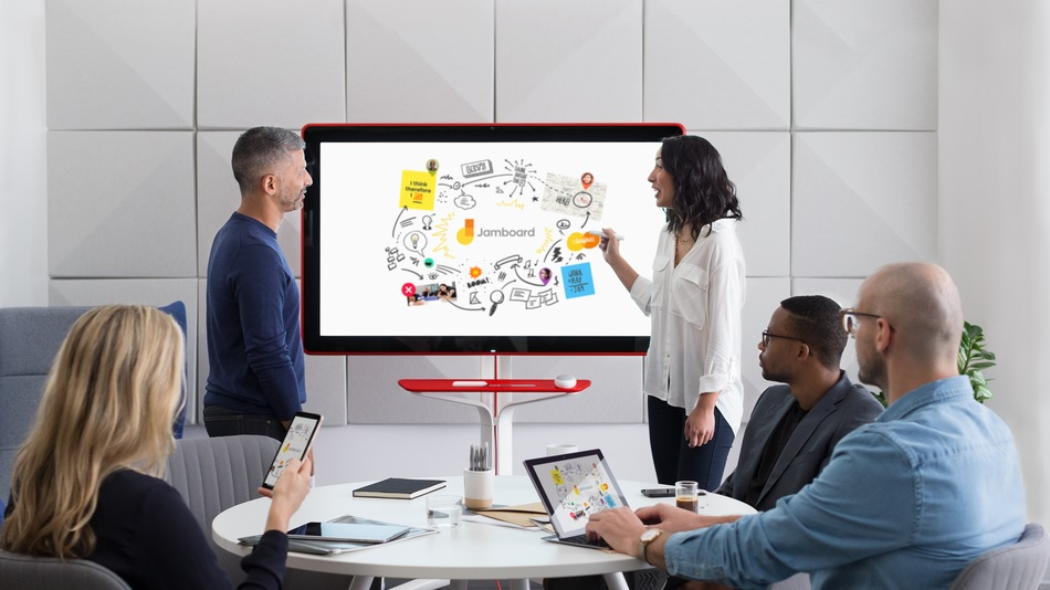 Google Jamboard, tablero digital para compartir ideas
