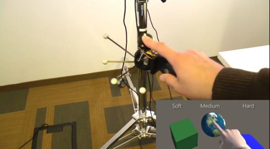 Microsoft trabaja en dos tipos de interfases táctiles para realidad virtual