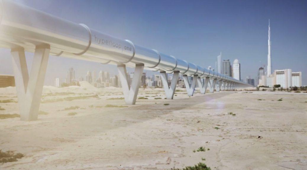 Cómo funcionará Hyperloop One el sistema de transporte del futuro