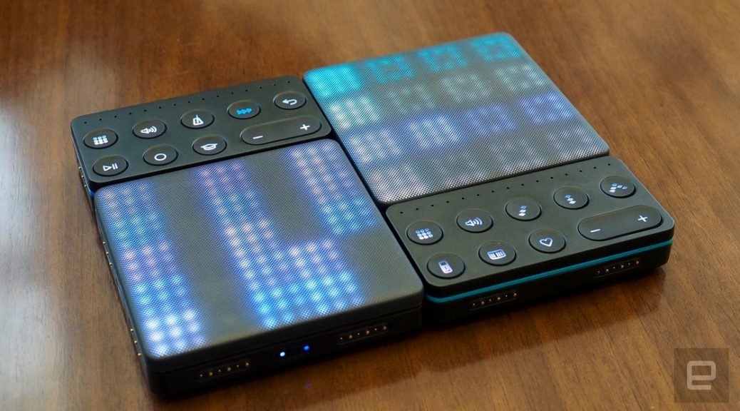 Roli BLocks es un sistema modular para hacer música electrónica