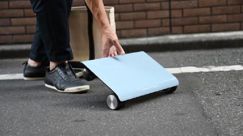 Walkcar, el «auto» que puede guardar en la mochila