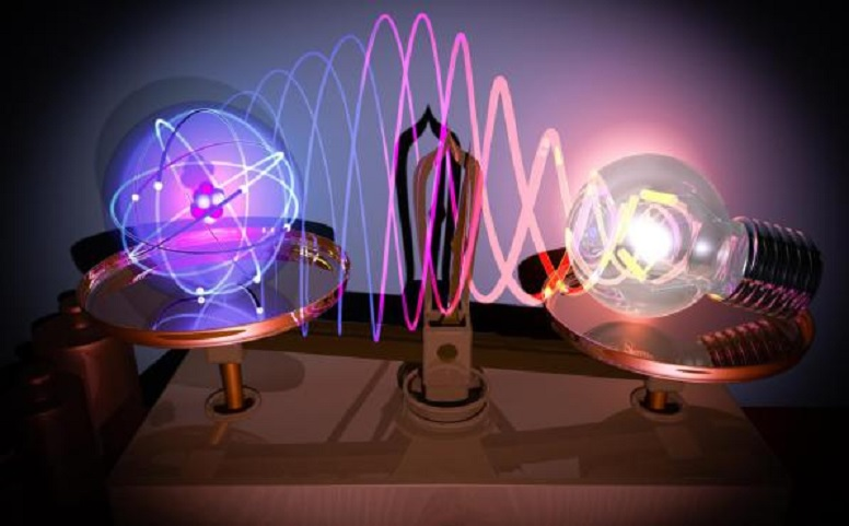 La lupa más pequeña del mundo permite ver los enlaces químicos entre átomos por primera vez