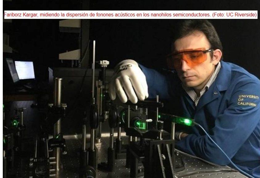 Nueva forma de disipar calor en dispositivos electrónicos