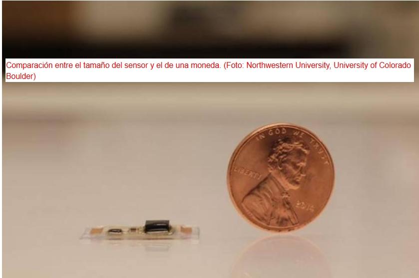Diminuto dispositivo ponible que vigila los latidos del corazón escuchándolos