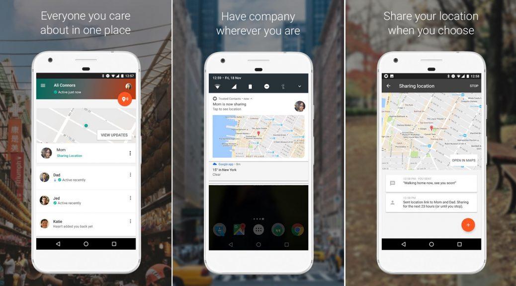 Aplicativo de Google para ubicar a sus seres queridos en caso de emergencias, gratis para Android