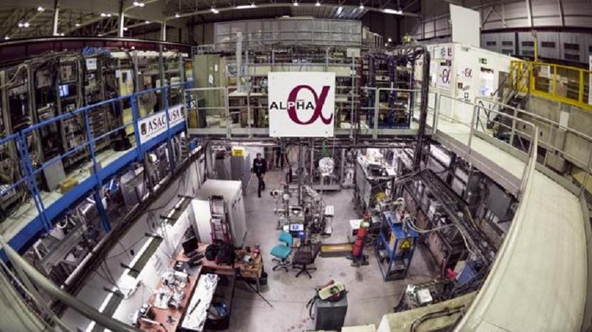 Logran por primera vez ver el espectro de la antimateria