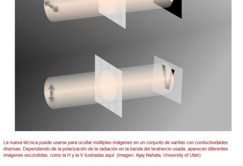 Impresión de imágenes ocultas usando impresoras normales de inyección de tinta