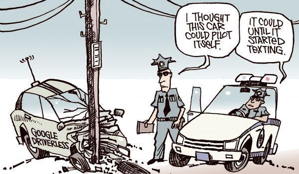 Qué ocurre cuando un automóvil con conducción automática decide devolverle el control al conductor humano