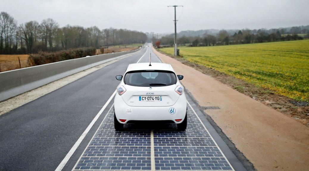 """Una ciudad francesa acaba de instalar la primera """"carretera solar"""""""