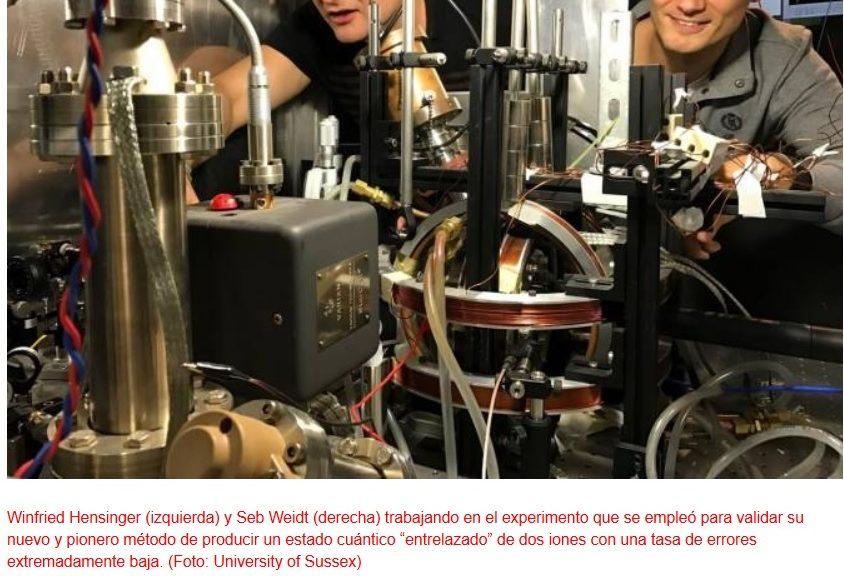 Nuevo método facilita drásticamente la fabricación de computadores cuánticos