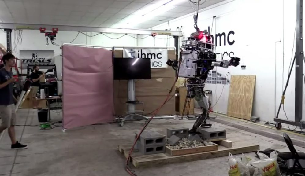 El increíble robot equilibrista fabricado por Google