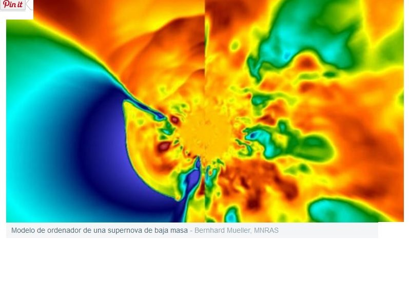 Una supernova desencadenó la formación del Sistema Solar