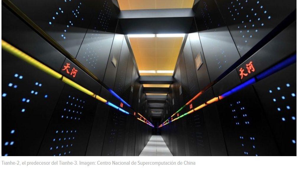 China trabaja en su primer computador a exaescala, la próxima frontera de la computación