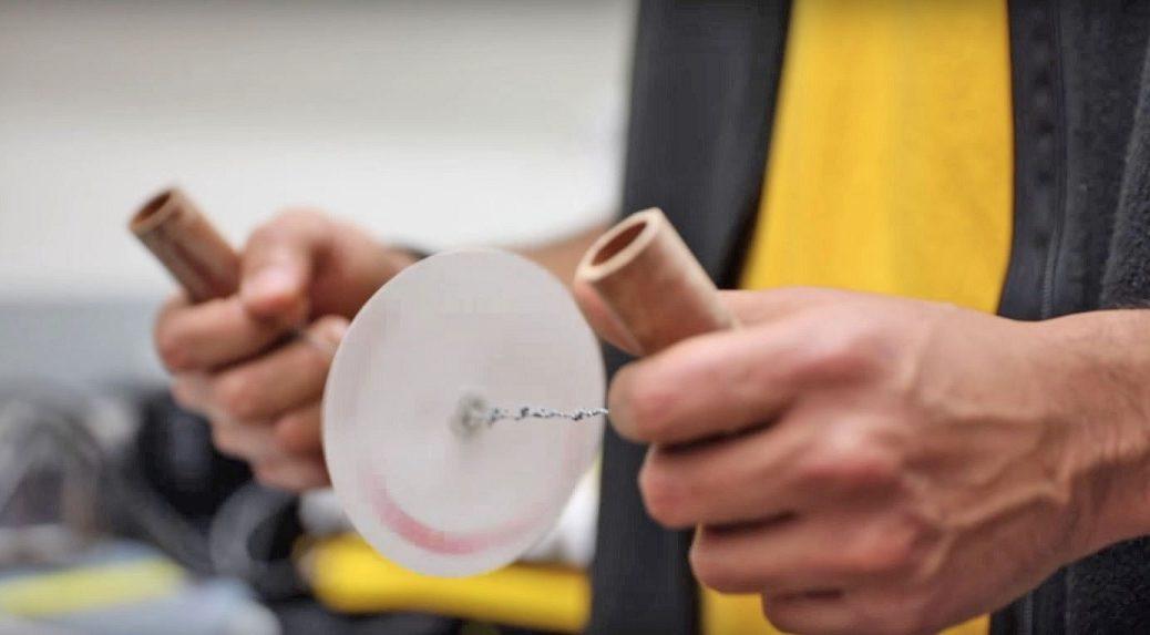 Inventan centrífuga de papel barata para ayudar a detectar enfermedades