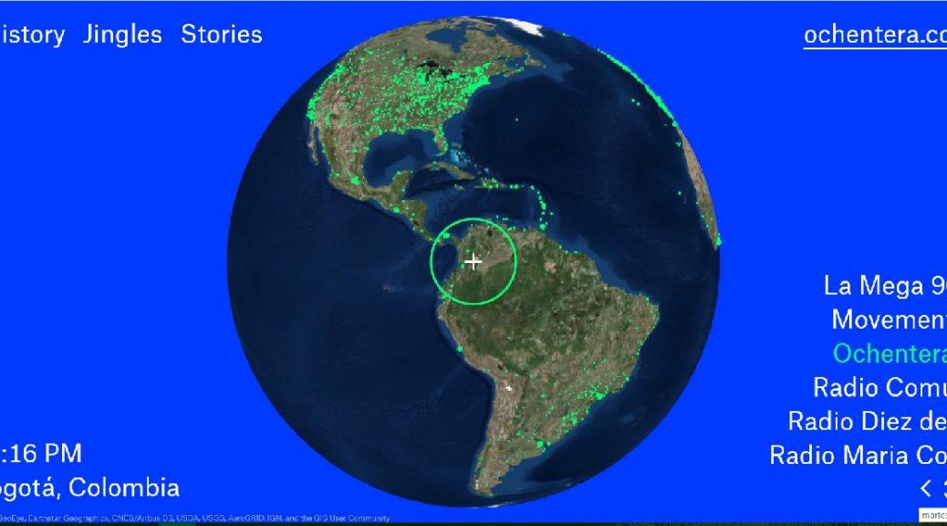 Explore radios de todo el mundo en este mapa global interactivo
