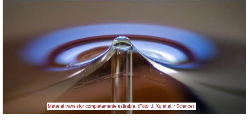 Transistores flexibles que se adaptan a la piel