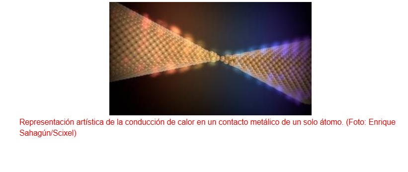 Primera medición del transporte de calor en circuitos nanométricos
